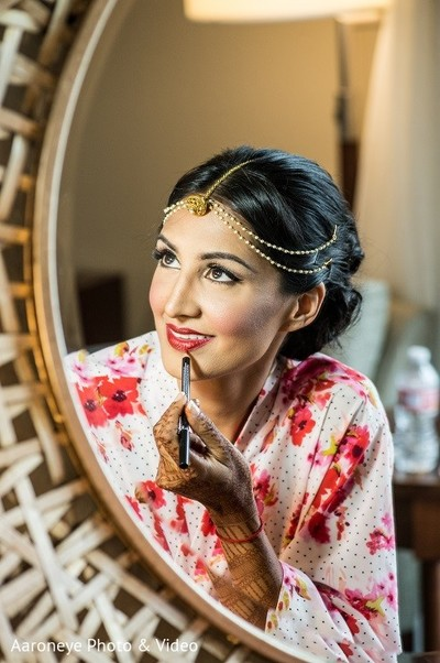 Getting Ready in Newport Beach, CA Indian Wedding by Aaroneye Photo & Video