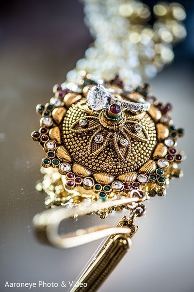 Bridal Jewelry in Newport Beach, CA Indian Wedding by Aaroneye Photo & Video