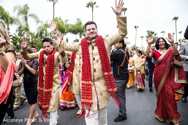Baraat in Newport Beach, CA Indian Wedding by Aaroneye Photo & Video