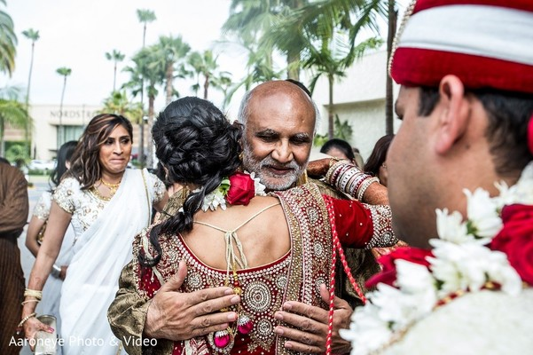 Ceremony in Newport Beach, CA Indian Wedding by Aaroneye Photo & Video