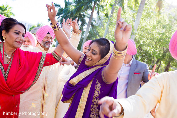 Baraat in Sarasota, FL Indian Fusion Wedding by Kimberly Photography