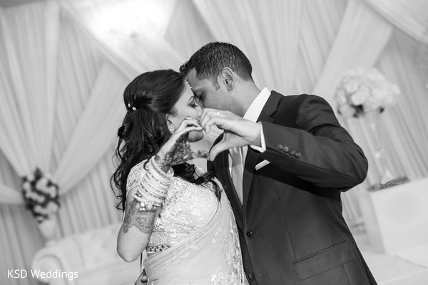 Reception Portraits in Woodcliff Lake, NJ Indian Wedding by KSD Weddings