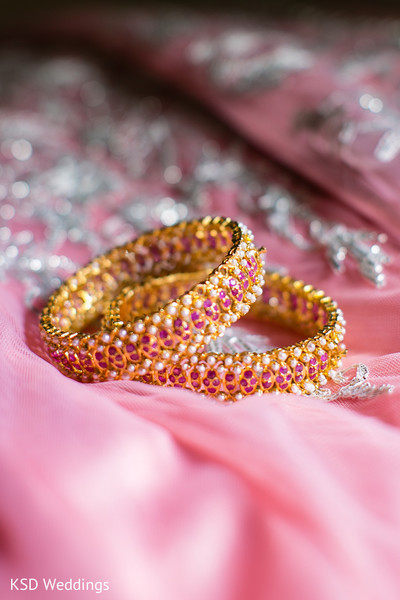 Reception Jewelry in Woodcliff Lake, NJ Indian Wedding by KSD Weddings