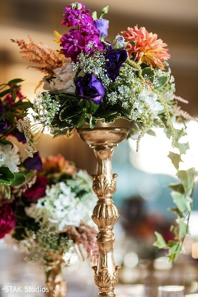 Floral & Decor in Huntington, New York Indian Wedding by STAK Studios