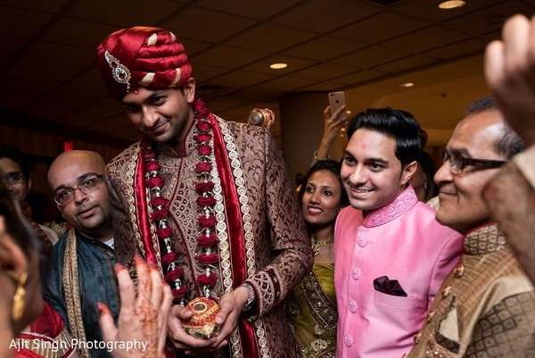 Baraat in Washington, D.C. Indian Wedding by Ajit Singh Photography