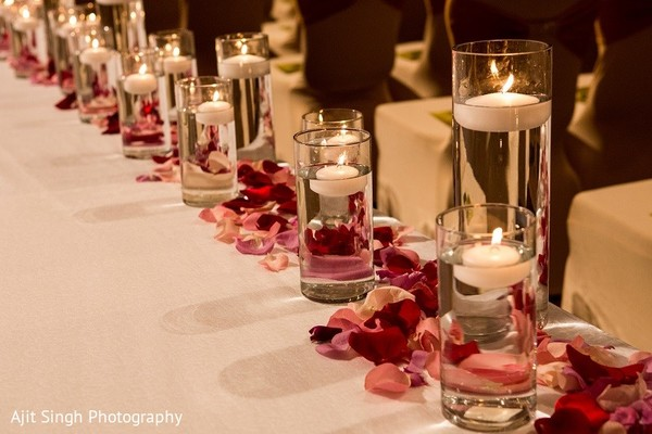 Ceremony Decor in Washington, D.C. Indian Wedding by Ajit Singh Photography