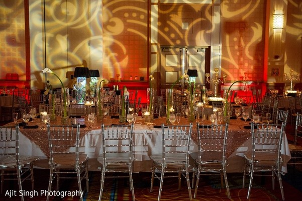 Floral & Decor in Washington, D.C. Indian Wedding by Ajit Singh Photography