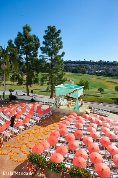Venue in Carlsbad, CA Indian Wedding by Braja Mandala Photography