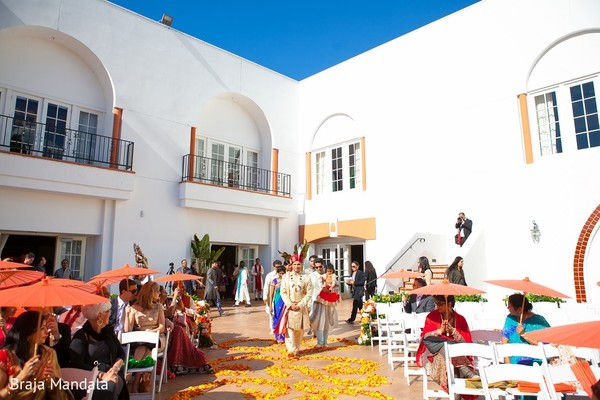Ceremony in Carlsbad, CA Indian Wedding by Braja Mandala Photography