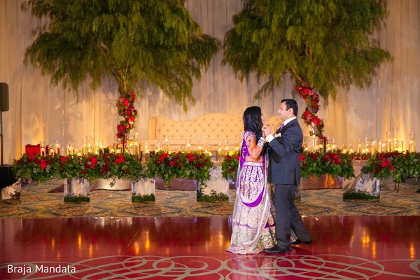 Reception in Carlsbad, CA Indian Wedding by Braja Mandala Photography