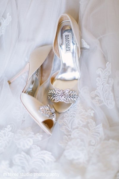 Shoes in Milwaukee, WI Indian Fusion Wedding by m three studio photography