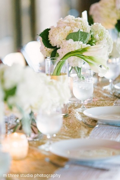 Floral & Decor in Milwaukee, WI Indian Fusion Wedding by m three studio photography