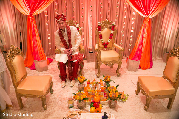 Hindu Wedding Ceremony in Chicago, IL Fusion Wedding Wedding by Studio Starling