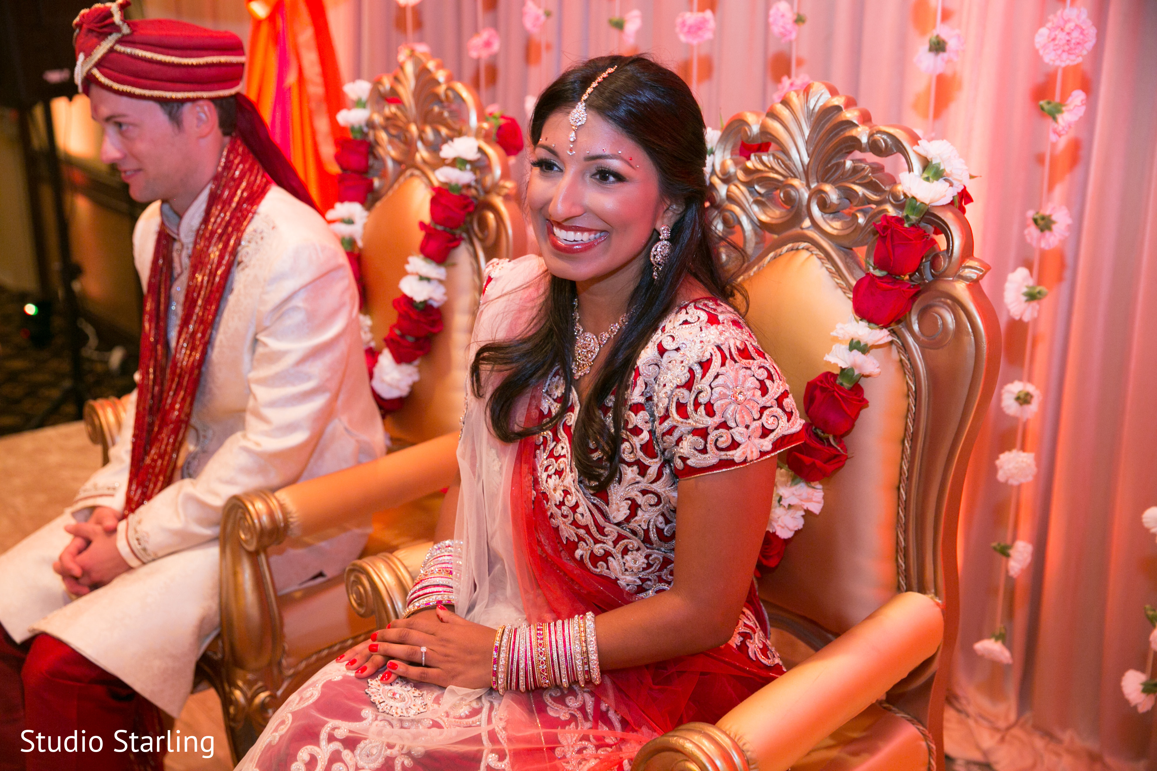 Hindu Wedding Ceremony In Chicago Il Fusion By Studio Starling Maharani Weddings
