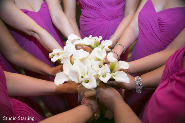 Bridal Bouquets in Chicago, IL Fusion Wedding Wedding by Studio Starling