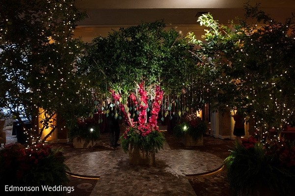 Floral & Decor in Dallas, TX Indian Fusion Wedding by Edmonson Weddings