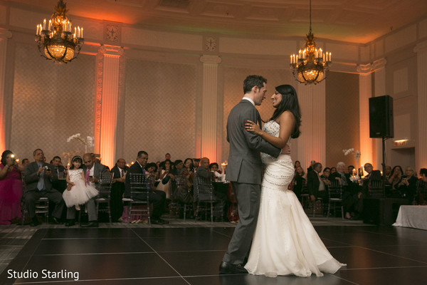 First Dance in Chicago, IL Fusion Wedding Wedding by Studio Starling