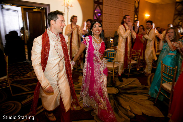 Indian Wedding Reception in Chicago, IL Fusion Wedding Wedding by Studio Starling