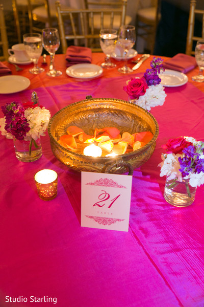 Indian Wedding Reception Decor in Chicago, IL Fusion Wedding Wedding by Studio Starling