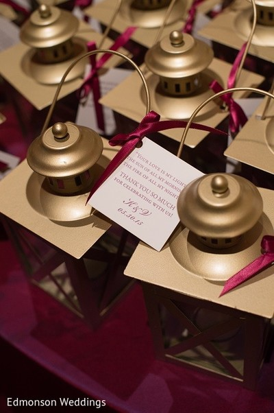 Favors in Dallas, TX Indian Fusion Wedding by Edmonson Weddings