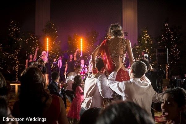 Reception in Dallas, TX Indian Fusion Wedding by Edmonson Weddings