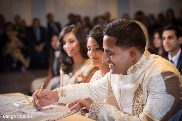 Nikkah Ceremony in Toronto, Canada South Asian Wedding by Banga Studios