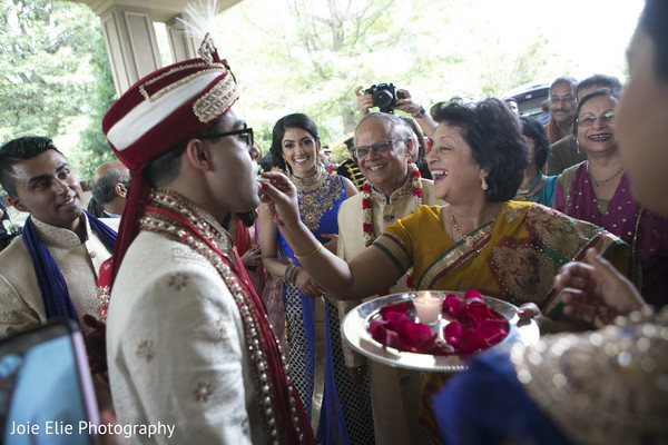 Baraat in Freehold, NJ Indian Wedding by Joie Elie Photography & Cinematography