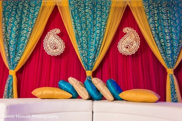 Pre-Wedding Decor in Atlanta, GA Indian Fusion Wedding by Jamie Howell Photography