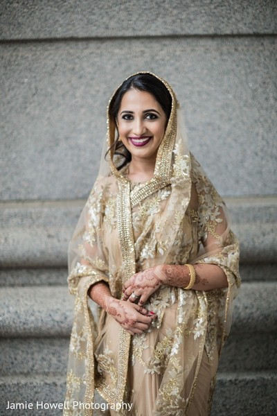 Bridal Portrait in Atlanta, GA Indian Fusion Wedding by Jamie Howell Photography