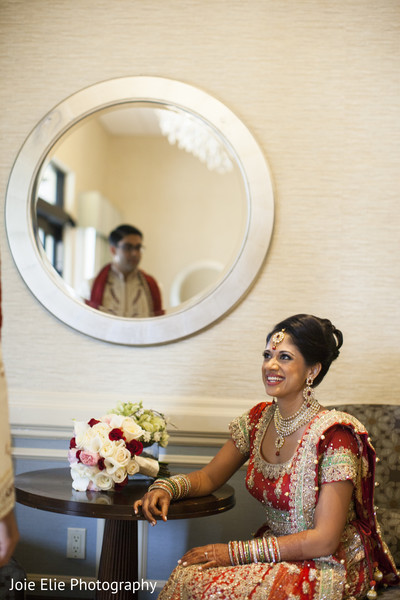 Bridal Portraits in Freehold, NJ Indian Wedding by Joie Elie Photography & Cinematography