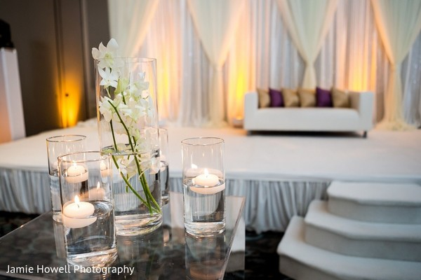 Ceremony Decor in Atlanta, GA Indian Fusion Wedding by Jamie Howell Photography