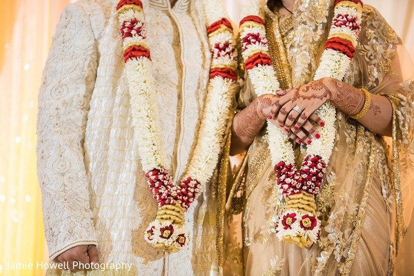 Ceremony in Atlanta, GA Indian Fusion Wedding by Jamie Howell Photography