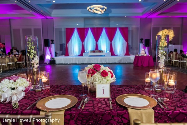 Floral & Decor in Atlanta, GA Indian Fusion Wedding by Jamie Howell Photography