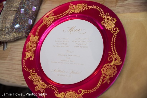 Stationery in Atlanta, GA Indian Fusion Wedding by Jamie Howell Photography