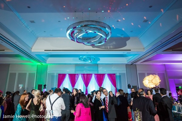 Reception in Atlanta, GA Indian Fusion Wedding by Jamie Howell Photography