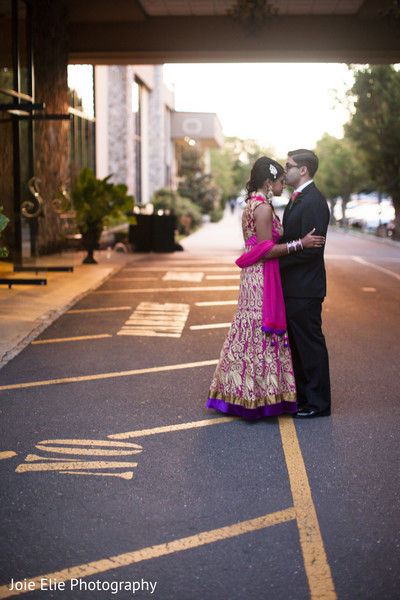 Reception Portraits in Freehold, NJ Indian Wedding by Joie Elie Photography & Cinematography