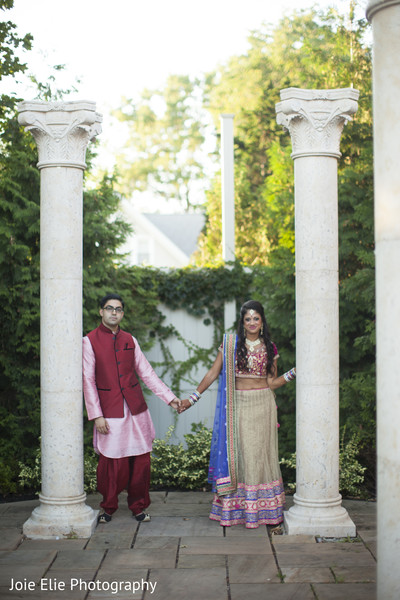 Sangeet Portraits in Freehold, NJ Indian Wedding by Joie Elie Photography & Cinematography