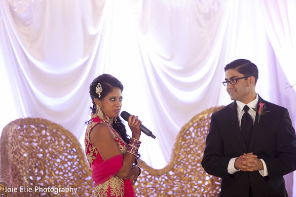 Wedding Reception in Freehold, NJ Indian Wedding by Joie Elie Photography & Cinematography