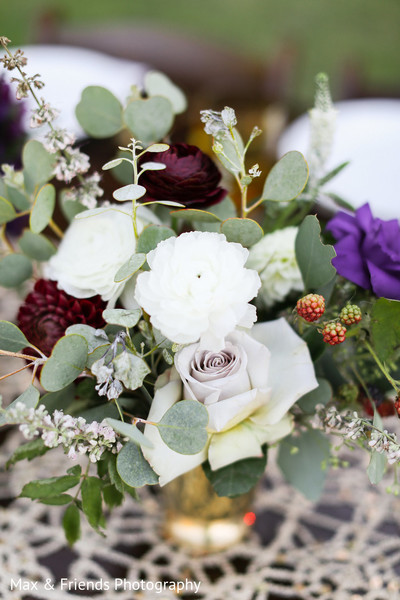 Floral & Decor in Malibu, CA Indian Wedding by Max & Friends Photography