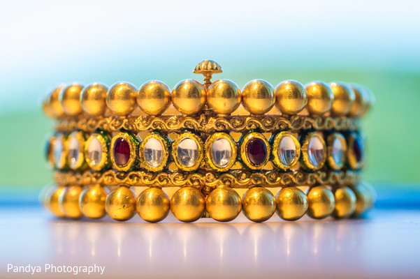 Bridal Jewelry in New York, NY Indian Wedding by Pandya Photography