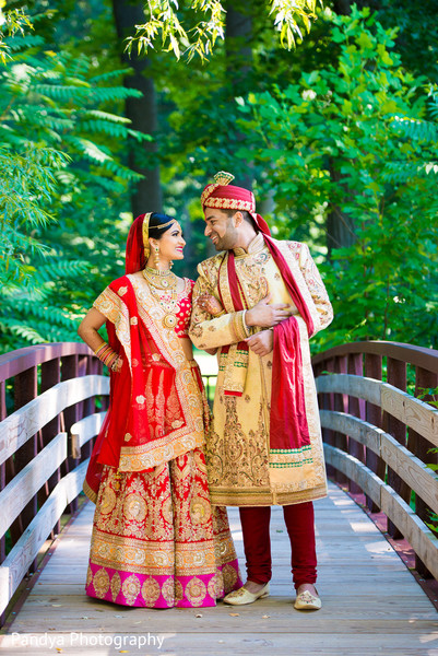 First Look in New York, NY Indian Wedding by Pandya Photography