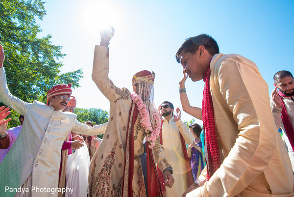 Baraat in New York, NY Indian Wedding by Pandya Photography