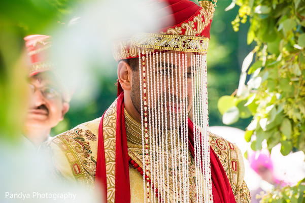 Ceremony in New York, NY Indian Wedding by Pandya Photography
