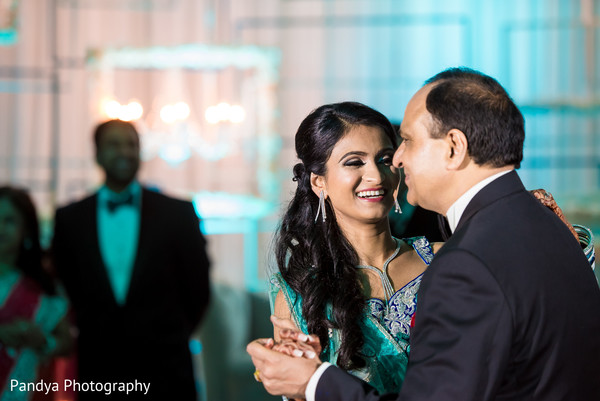 Reception in New York, NY Indian Wedding by Pandya Photography