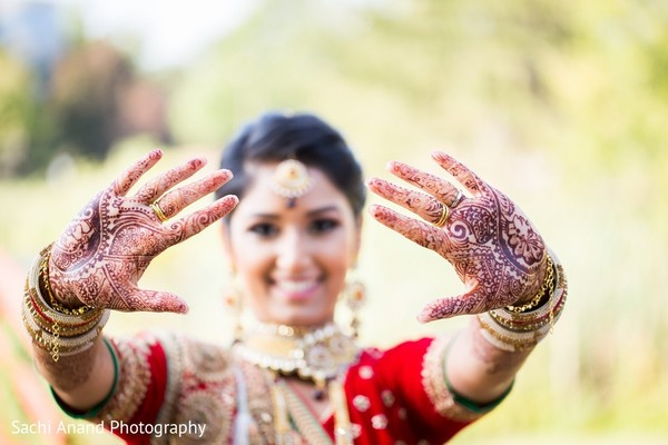 Mehndi in Somerset, NJ  Indian Wedding by Sachi Anand Photography