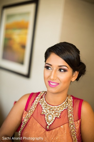 Getting Ready in Somerset, NJ  Indian Wedding by Sachi Anand Photography
