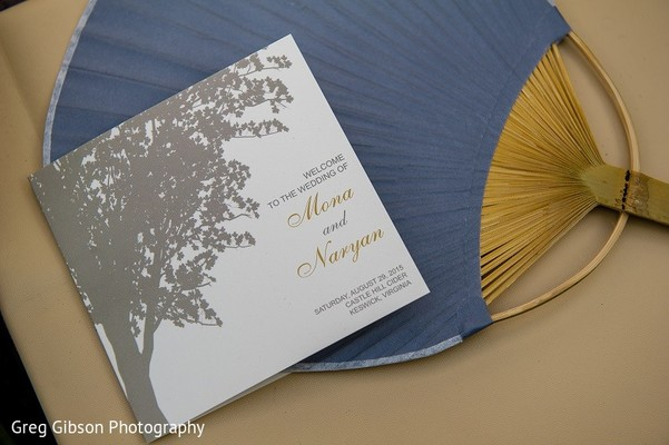 Stationery in Keswick, VA Indian Wedding by Greg Gibson Photography