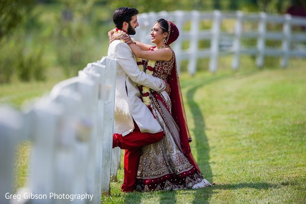 Wedding Portrait in Keswick, VA Indian Wedding by Greg Gibson Photography