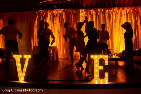 Lighting in Keswick, VA Indian Wedding by Greg Gibson Photography