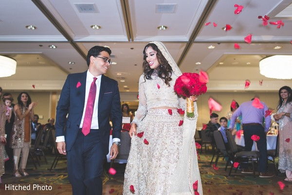 Reception in Palm Springs, CA Pakistani Wedding by Hitched Photo